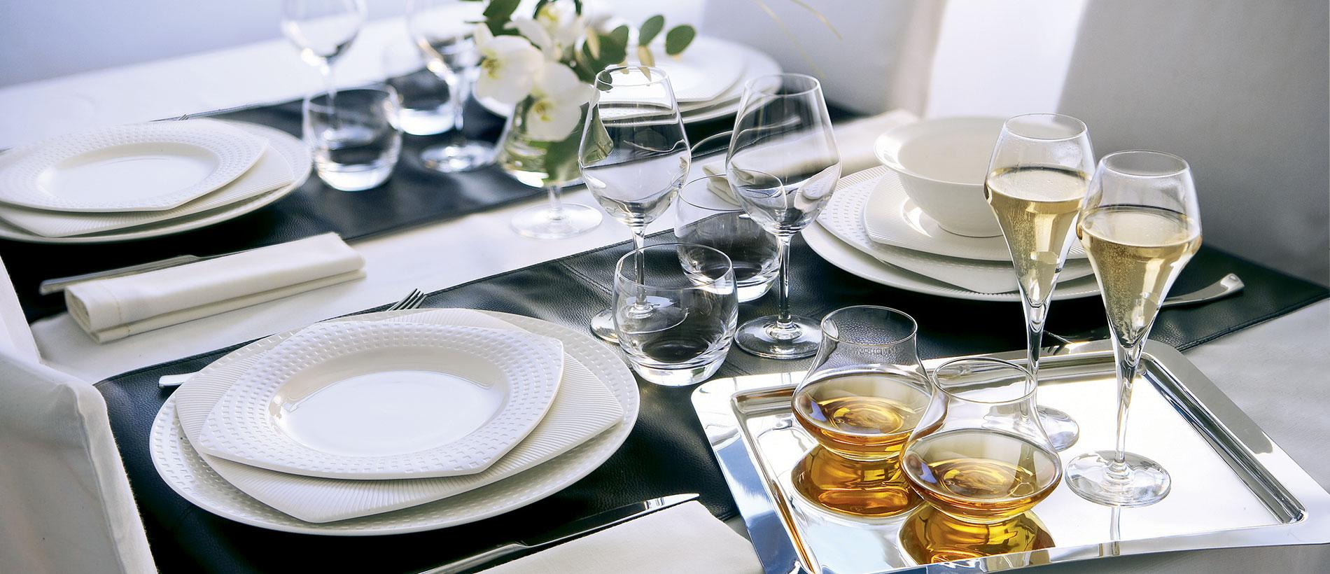 Satinique (Фарфор Chef&Sommelier Франция)